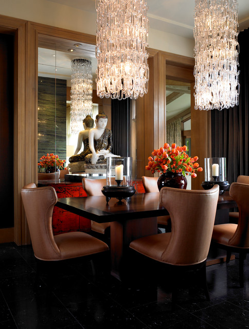 Private Residence - Boca Raton, Fla. contemporary-dining-room