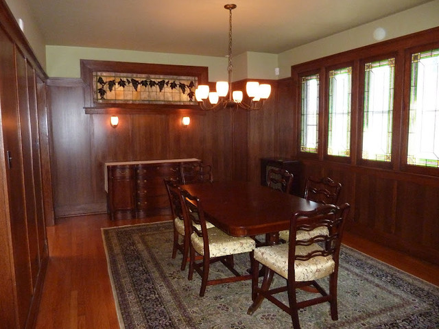 Private Residence Keeler St Chicago Traditional Dining Room
