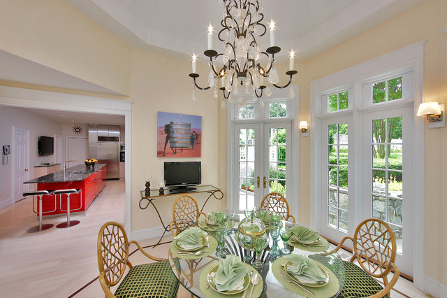 Private Residence - Kitchen Renvoation & Addition eclectic-dining-room