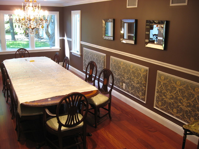 Private Residence, Long Isalnd NY traditional-dining-room