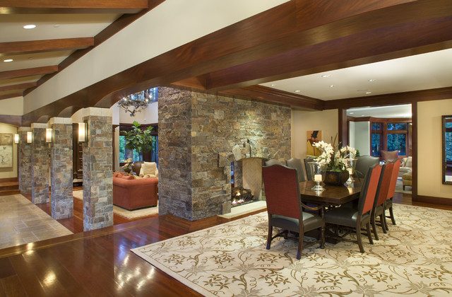 Private Residence Los Altos traditional-dining-room