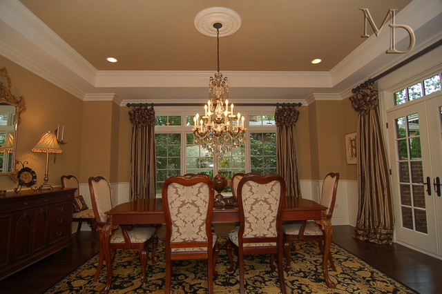 Private Residence - Naperville traditional-dining-room