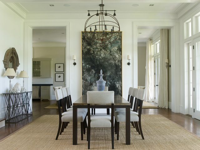Private residence traditional dining room orlando for Best private dining rooms orlando