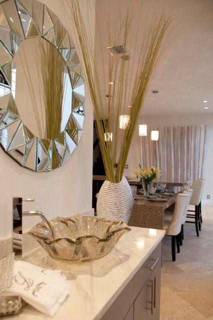 Private Residence contemporary-dining-room