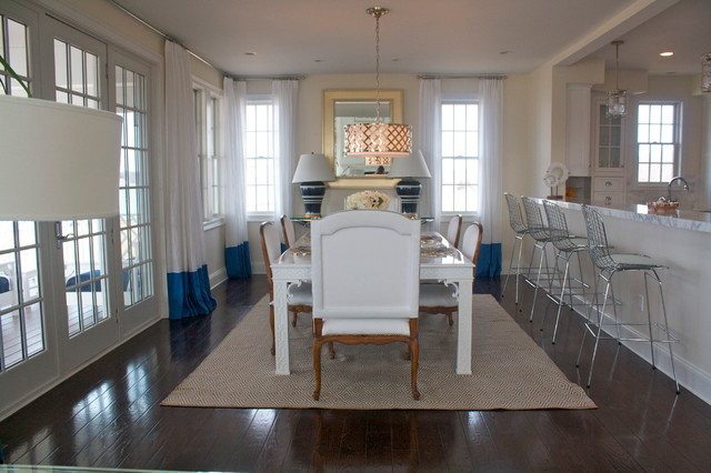 Private Waterfront Condominiums and Estates - Beach Style - Dining ...