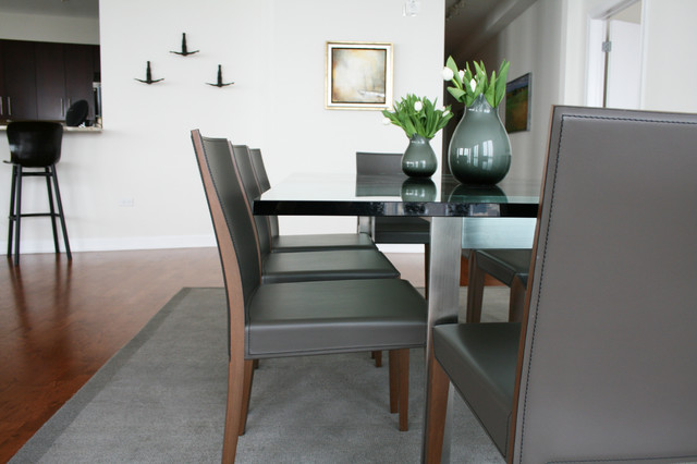 project 1211 s prairie modern dining room chicago