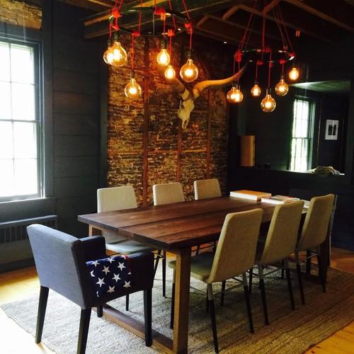 Love the brick wall for Alpha home interior decoration llc