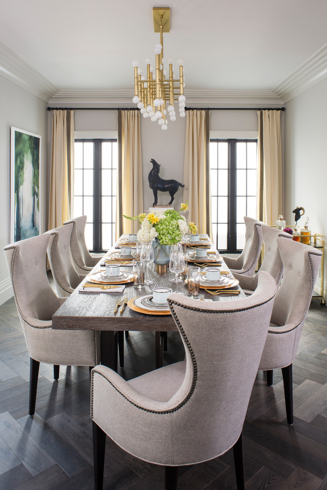 Property Brothers At Home Drew S Honeymoon House Transitional Dining Room Los Angeles By Breeze Giannasio Interiors