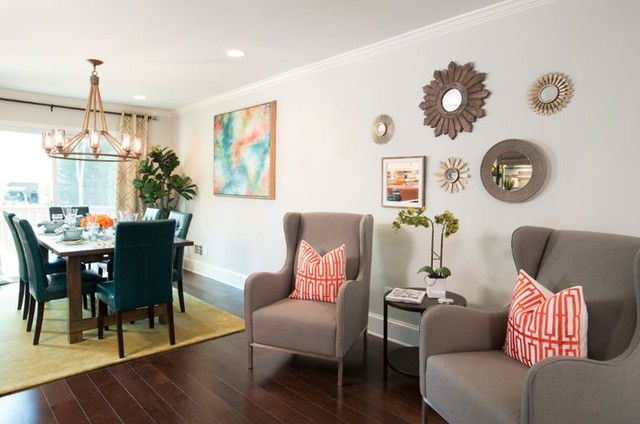 property brothers - dining room - atlanta -savoy house lighting