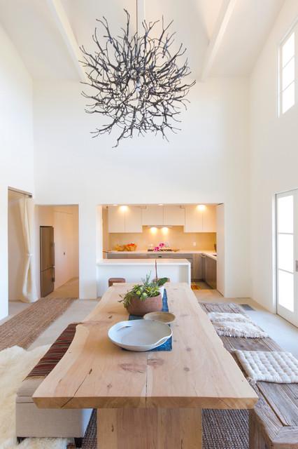 Provencal Mas mediterranean-dining-room