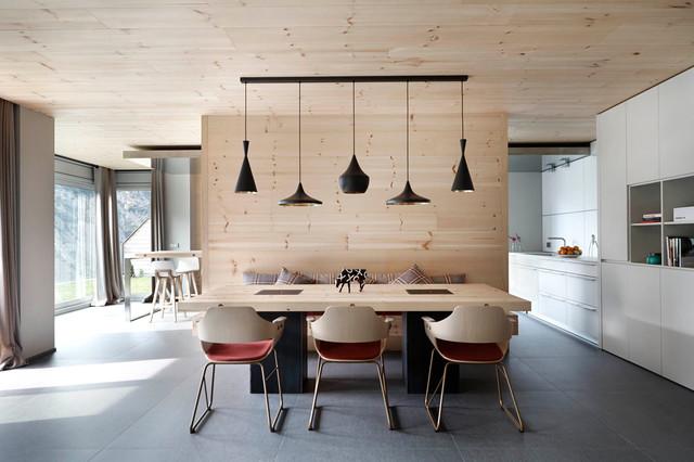 Proyecto de Interiorismo de vivienda retro y contemporanea ...