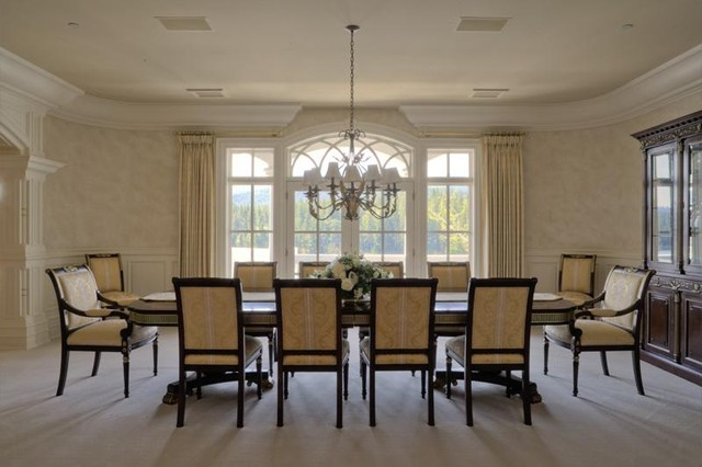 Puryear Residence traditional-dining-room