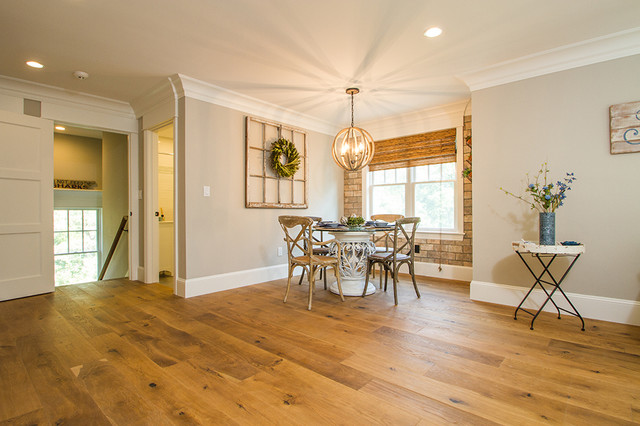 Quaint Kitchen Amp Living Room With Sierra Wide Planking