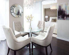 Queensway dining space, Interior Design Vancouver contemporary-dining-room