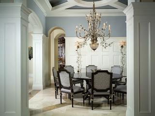 r k reiman construction custom build exotique salle manger miami par r k reiman. Black Bedroom Furniture Sets. Home Design Ideas