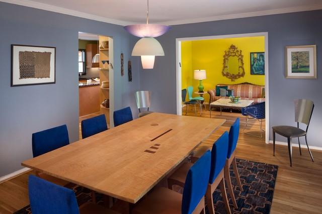 Rabinowitz Residence eclectic-dining-room