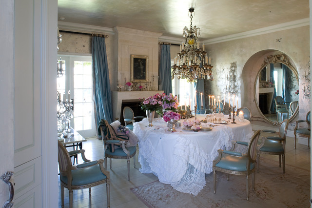 Rachel ashwell shabby chic couture romantique salle - Salle a manger shabby ...