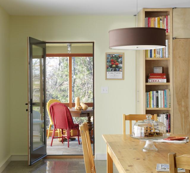 Raised Ranch Retrofit Contemporary Dining Room