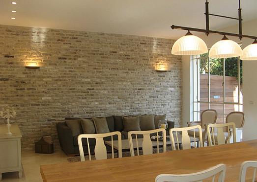 Ramat Poleg 3 traditional-dining-room
