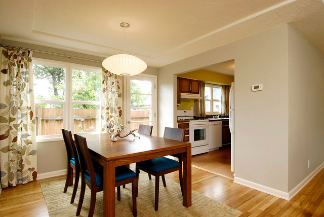 Ranch Dining Room Modern Dining Room Portland By