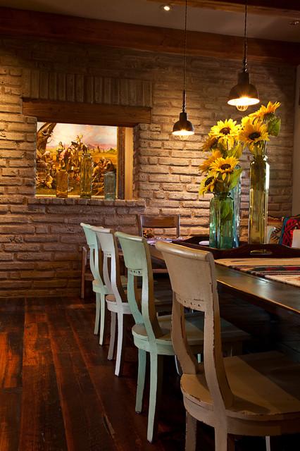 Rancho Mañana, Cave Creek, AZ rustic-dining-room