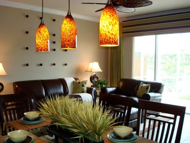 Random Homes contemporary-dining-room