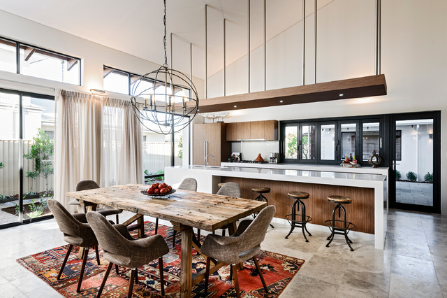 RBC Bletchley Loft - Dining & Kitchen contemporary-dining-room