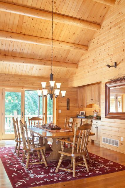 Reading, PA family retreat - Rustic - Dining Room - Philadelphia