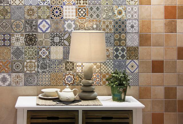 Realonda Provenza Tile Mediterranean Dining Room