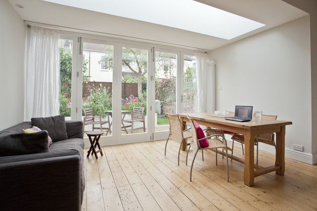 Rear extension in central bristol for Dining room extension ideas