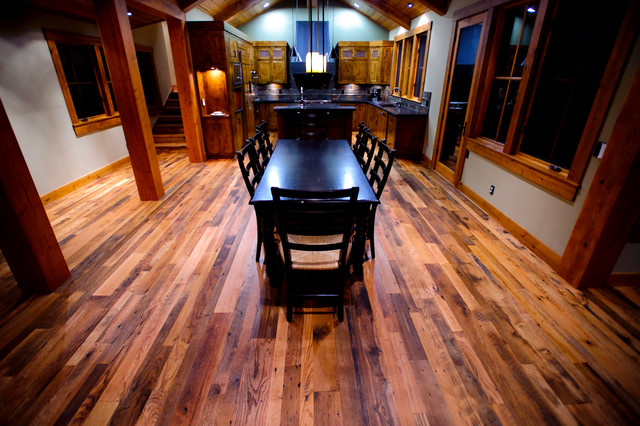 Reclaimed Oak 2 traditional-dining-room