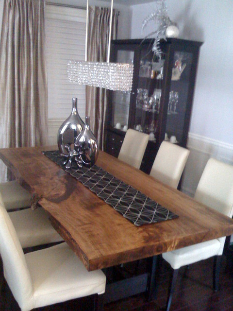 dining table contemporary dining room toronto by urban tree