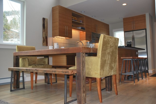 Reclaimed Wood Dining/Kitchen Tables contemporary-dining-room