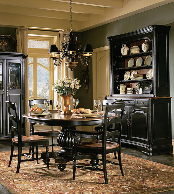 Reclaimed wood furniture traditional-dining-room