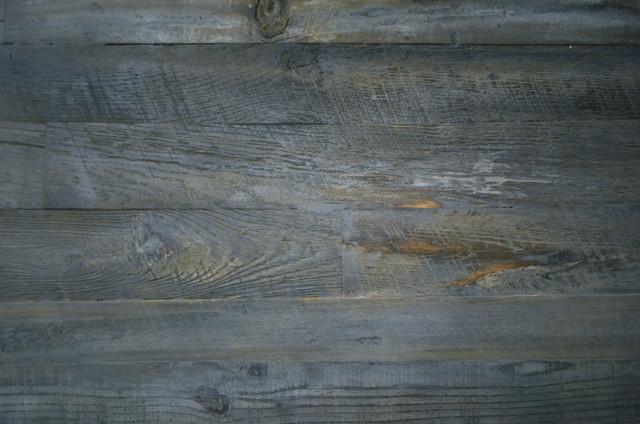 Reclaimed wood rustic grey modern dining table - Rustic ...