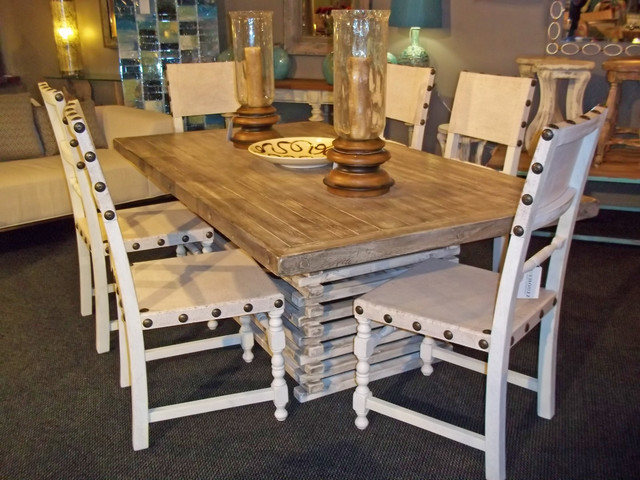 reclaimed wood eclectic dining room other by
