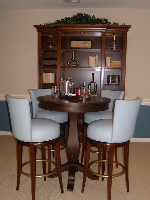 Red bud model home for Model home dining room