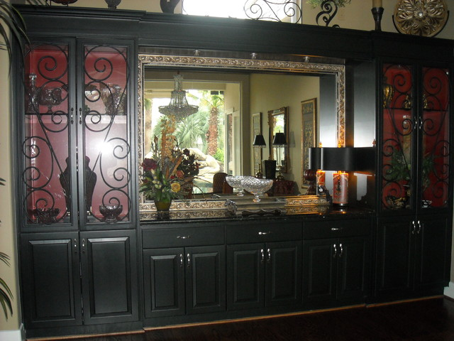 Redesigned Built In Dining Buffet Traditional Dining