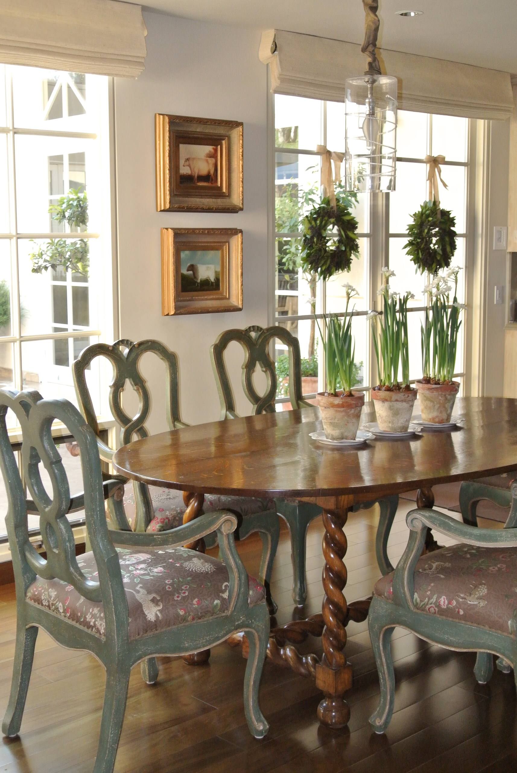 Refined Farmhouse Dining & Kitchen