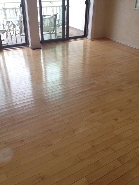 Refinishing Maple Floors : Refinishing maple floors Longport, NJ 08403 - Beach Style - Dining ...