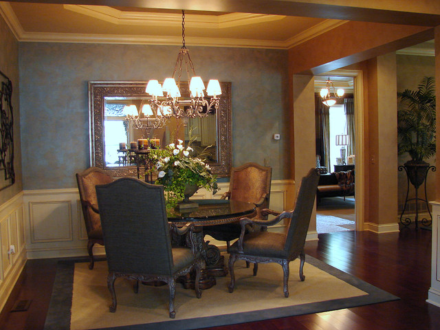 Regency Highland Model Home traditional-dining-room