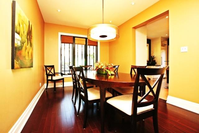 Reid Manor contemporary-dining-room