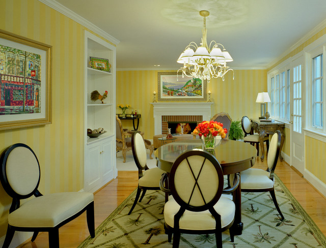 Remodel and Addition--Suburban Renewal traditional-dining-room