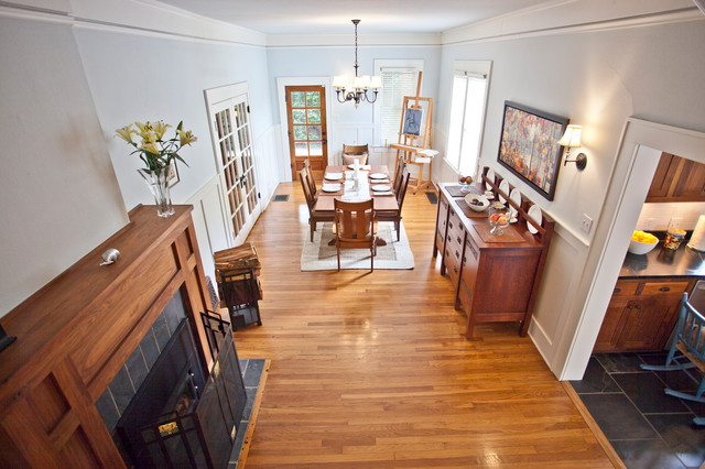 Arts And Crafts Dining Room
