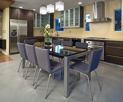 Remodel without Removal modern-dining-room