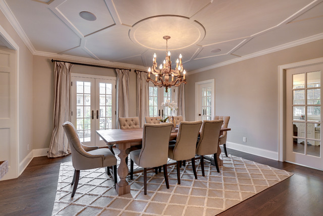 Remodelers Showcase Fall 2012 Traditional Dining Room