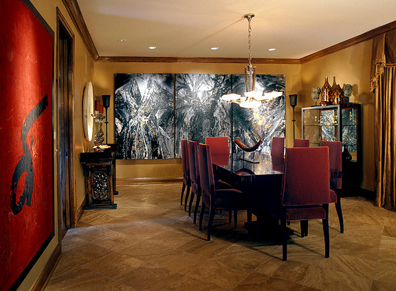 residence in oak brook il contemporary dining room chicago by