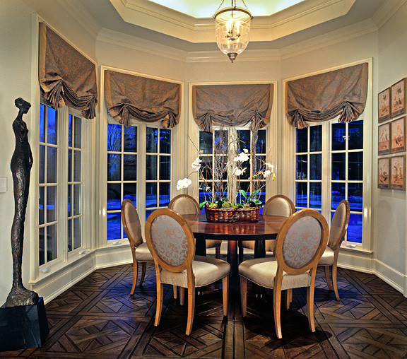 Residences In Hinsdale Il Traditional Dining Room