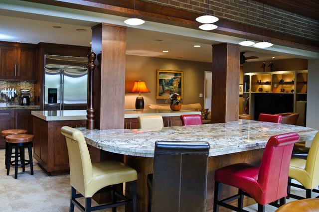 Residential Installations contemporary-dining-room
