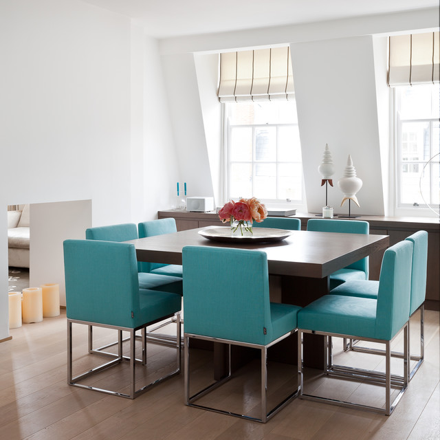 Residential Interiors Contemporary Dining Room